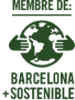Logotip Barcelona+Sostenible