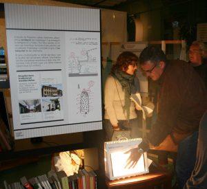 Cases amb energia. Exposició sobre eficiència energètica de l'habitatge.